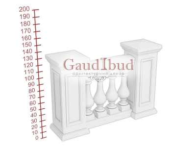 Palace balustrade B121-11