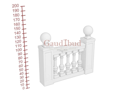 Palace balustrade B232-343