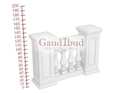 Palace balustrade B111-11